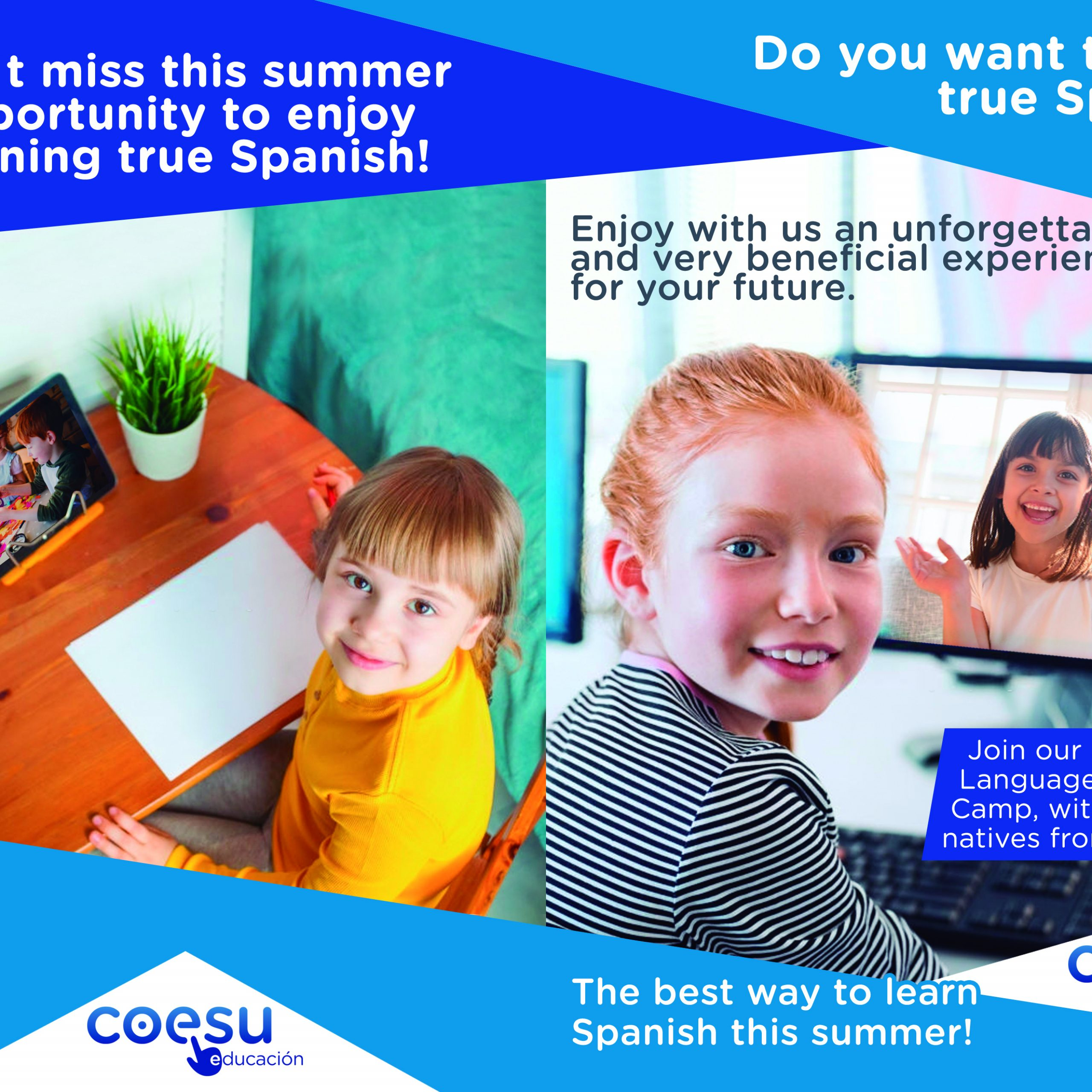 The best way to learn spanish this summer!
